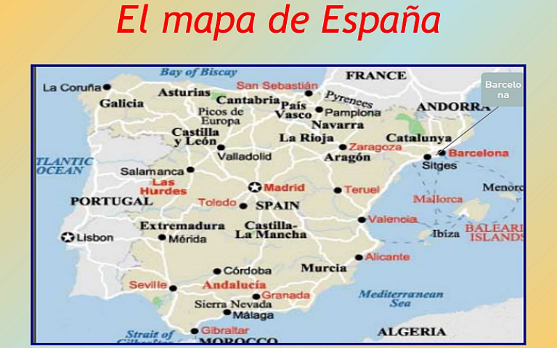 ¡UNA VENTANA HACIA ESPAÑA!
