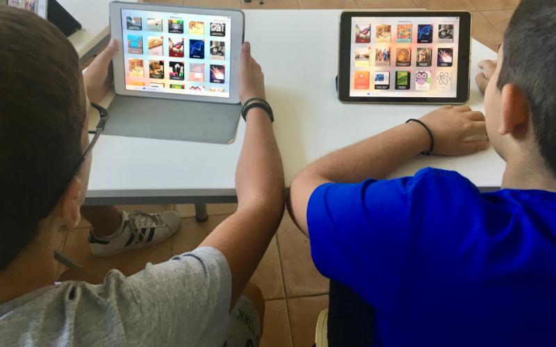 Η ΒΙΒΛΙΟΘΗΚΗ ΜΑΣ ΣΤΟ iPad