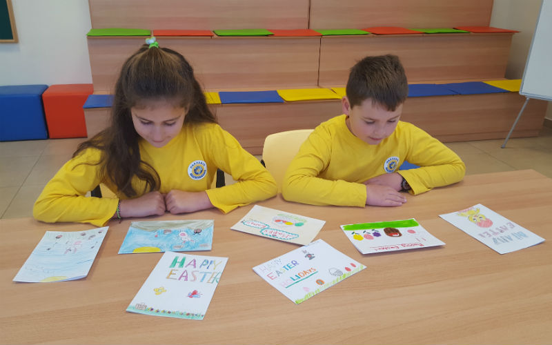 eTWINNING EASTER CARDS