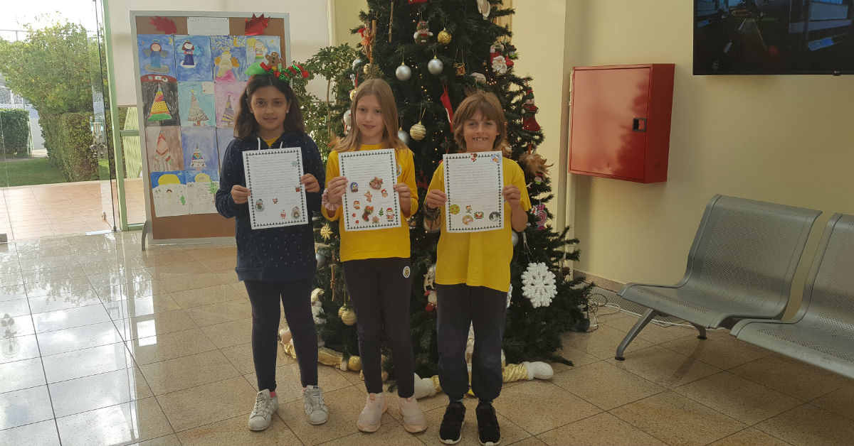 eTWINNING: OUR PENPALS ARE GETTING READY FOR CHRISTMAS